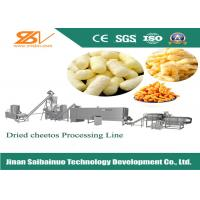 Electric Kurkure Making Machine Cheetos Corn Chips Snacks Manufacturing Machine Manufactures
