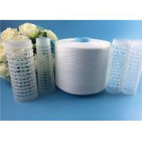 Quality 40s/2 Spun Polyester Yarn Virgin Raw White on Dyeing Tube / Paper Cone for sale
