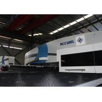 High Vacuming Capability CNC Punch Press Machine 20 Ton Multi - Tools Manufactures