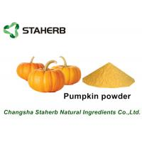 Quality Yellow Fine Pumpkin Dried Vegetable Powder For Food Beverage / Ice Cream for sale