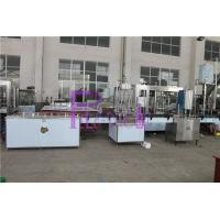 SUS304 Juice Milk / Can Filling Line With Negative Pressure Manufactures