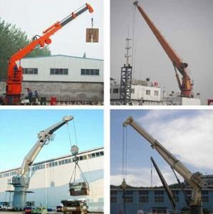 Deck Cargo Handling Marine Crane Manufactures