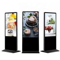 China 49 Inch Floor Standing Indoor Digital Signage Infrared Touch For Exhibition Center on sale