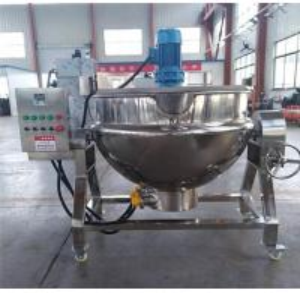 China Sugar boiler with mixer, sugar boiling machine, sugar melting pot on sale