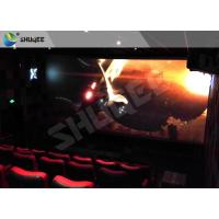 Children Amusement 4D Cinema Movie Theater With Electric System Motion Seat CE Manufactures