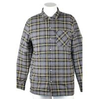 China Long Sleeve Cotton Flannel Plaid Work Shirts With Company Embroidery Logo on sale