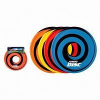 60cm Flying Discs/Toys, Made of PVC Tube/Polyester/EPE Materials Manufactures