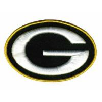 Plain embroidery and 3D puff_embroidery digitizing nfl G designs Manufactures