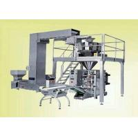 Continuous Pouch Filling And Sealing Machine For Food / Snack , VFFS Packing Machine Manufactures