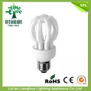 Household 105w 7000k CFL Lamp Bulb / Lotus Energy Saving Incandescent Light Bulbs Manufactures