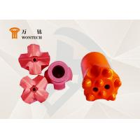 Piling Work Alloy Steel Taper Button Bit Special Structure ISO9001 Approval Manufactures