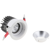China Modern 7W 9W 15W 68mm Deep Recessed Adjustable Ceiling LED COB Spotlight Spot Light with Cover for Bathroom on sale