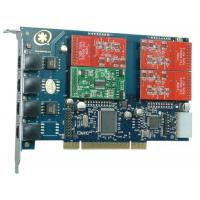 Buy cheap TDM41OP 4Port 3FXO&1FXS Asterisk Card for Call Center from wholesalers