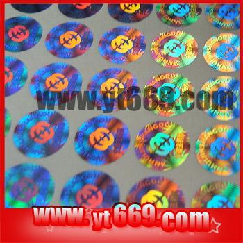 Quality Manifold hologram sticker for sale