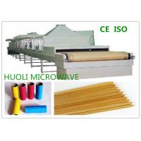 China Belt Microwave Wood Drying Machine Industrial Wood Dryers PLC Automatic Control on sale