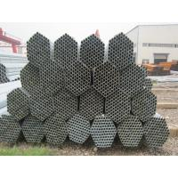 Round Construction Hot-dip Galvanized Steel Pipe , Hollow GI Pipe Manufactures