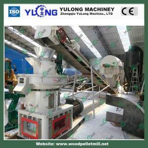 China High Efficiency biomass fuel pellet making machine/wood pellet production line/CE on sale