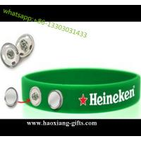 China Hot Sale Cusotm Silicone wristband/Bracelet for World Cup Competition on sale