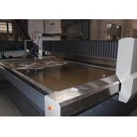 Automated Stainless Steel Water Jet Cutting Machine No Mechanical Stresses Manufactures