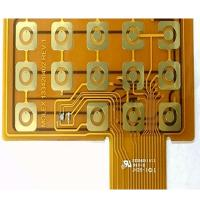 Yellow Soldermask Flexible PCB Prototype FR4 Stiffener Touch FPCB Polyimide Panel Manufactures