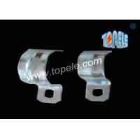 1/2 - 4 Inch ,  IMC Conduit And Fittings  Zinc Plated Steel conduit strap  / One Hole Conduit Pipe Clamp Manufactures