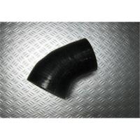 China OEM Black 45 Degree Elbow Auto Silicone Rubber Hose Reducer for Supercharger on sale