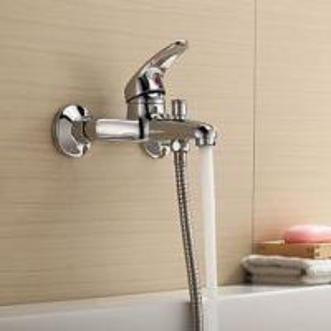 China Single Handle Ceramic Cartridge Bathtub Mixer Taps For Bathroom Bath on sale