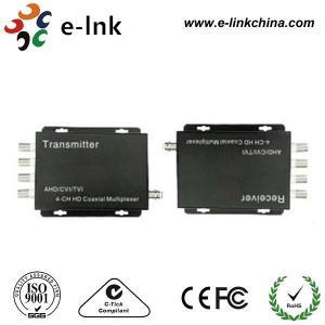 2~4 CH CVI / AHD / TVI HD / Coaxial Multiplexer Manufactures