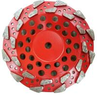 China 4 Inch 5 Inch 7 Inch Star Type Segment Grinding Cup Wheel Concrete Gridning Discs diamond cup wheel on sale