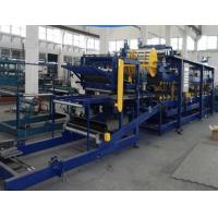Thickness 40-320mm Rockwool Sandwich Panel Machine High Speed Forming With 3KW Power