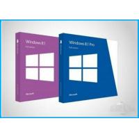 OEM key activation online Microsoft Windows 8.1 Pro Pack English / French Manufactures