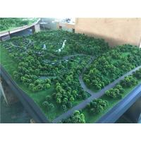 Trees model material for architectural tourist mountain , display working maquette Manufactures
