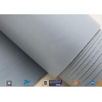 0.25mm 280g Waterproof PVC Coated Fiberglass Fabric Cloth For Flexible Fabric Duct Manufactures