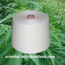 Quality Bamboo Fiber Yarn for Knitting Use Ne32s/2 for sale