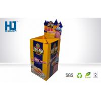 Retail Bakery Display Stand Cardboard Display Stand for Bread , Pos Cardboard Dump Bins Manufactures