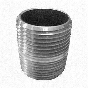 MSS Standard thread NPT, Socket Weld Steel Pipe Nipples Fittings 6000 LB, 9000 LB Manufactures
