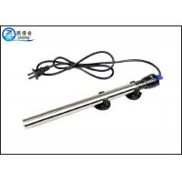 China 100W Submersible 304 Stainless Steel Aquarium Heaters With Double Seal Protection on sale