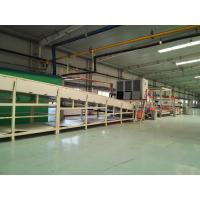 Natural Asphalt Carpet Back Coating Production Line Automatic Water - Cooling Control Manufactures