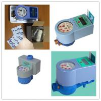 Electronic RF Card Prepaid Water Meter , AMR Potable Smart Water Meter For Residential Manufactures