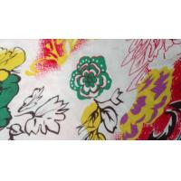 Novelty Silk Screen Printed Knit Fabric For Toy , Organic Cotton Voile Fabric Manufactures