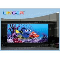 Advertising Smd P10 Outdoor Smd Led Display Ultrathin / Lightweight Manufactures
