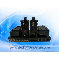 Remote studio fiber system for Sony cameras working with Datavideo MCU-100S control unit Manufactures