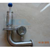 China Brewery Fermenter Tank Stainless Steel Safety Pressure Relief Bunging Valve  Pressure Relief Vacuum Valves on sale