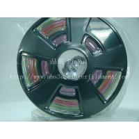 Multicolor gradient 3d printer filament, one roll have the many colors ,new filament Manufactures