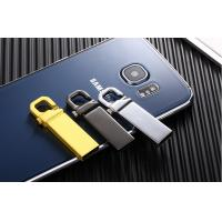 High Speed 3.0 Metal Pen Drive 64Gb USB Flash drive with Carabiner keychain Manufactures