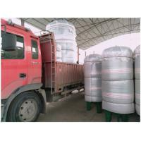 Vertical Compressed Oxygen Storage Tank 110 Degree Operating Temperature Manufactures