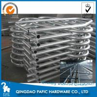 Hot-Dip Galvanized Steel Tube Cattle Free Stall For Dairy Farm 4m Length Manufactures