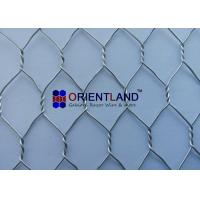 China 3/4 Chicken Wire Cloth , Hot Dipped Galvanized Poultry Netting Strong Structure on sale