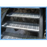 Hot Dipped Galvanized Steel Stair Treads Grating Various Specifications Manufactures