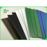 1.5mm 2.0mm Recycled Pulp Varnish Colorful Paperboard For File Folders Manufactures